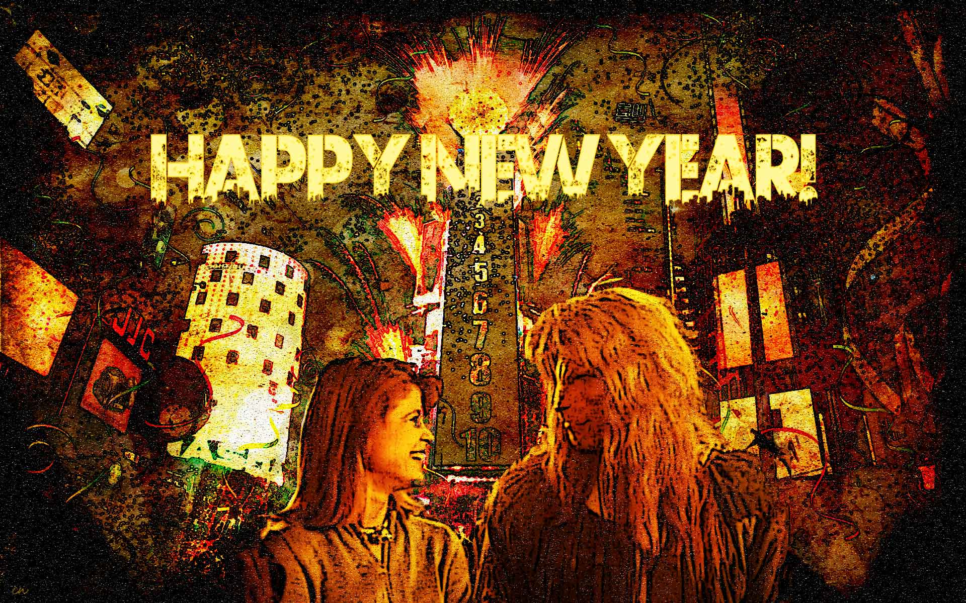 Happy New Year Graphic by Carole W
